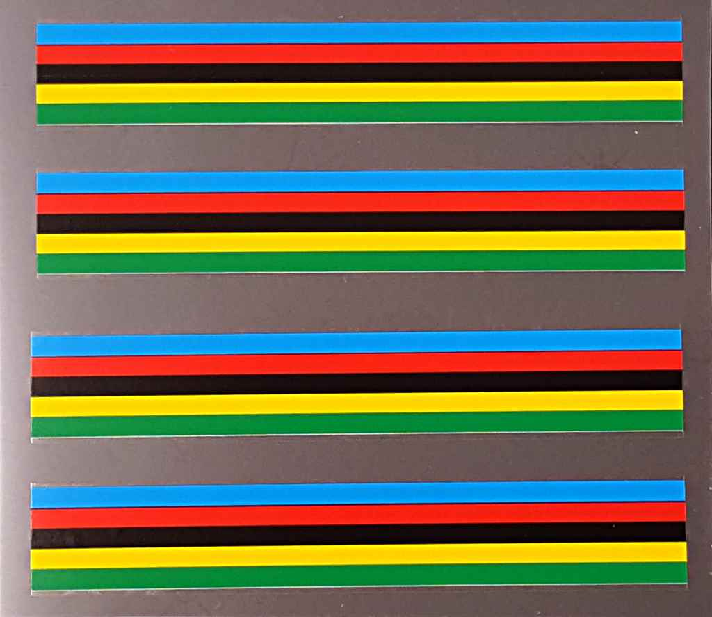 Cinelli Colored Band Decals - 2 Pair