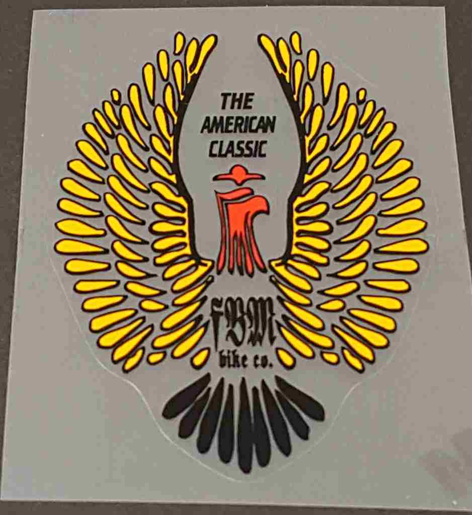 FBM Head Badge Decal