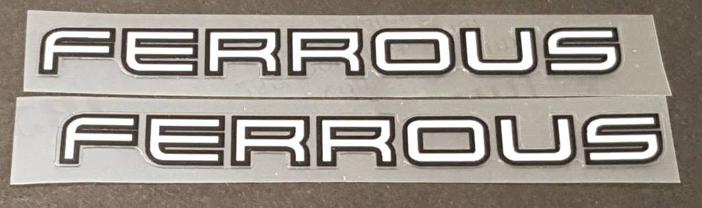Gary Fisher Bicycle Top Tube Decals - 1 Pair - Choose colors