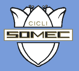 Somec Cicli Head Badge Decal - Choose Color