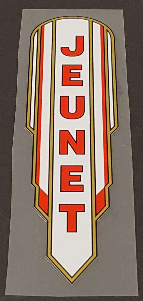 Jeunet  Bicycle  Captivante Seat Tube Decal
