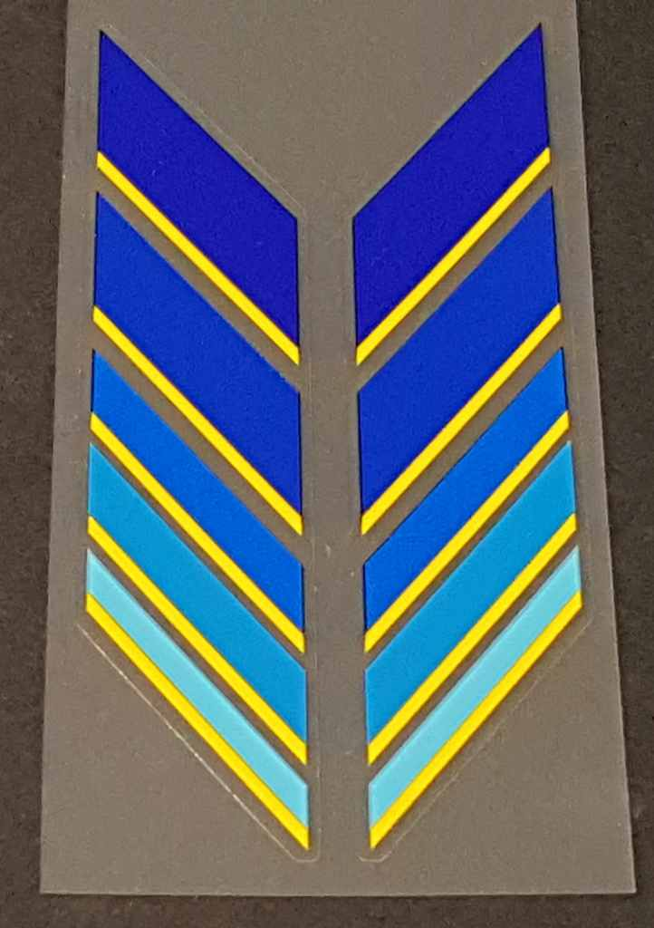 Olmo Bicycle Down Tube Chevron Decals - 1 Pair