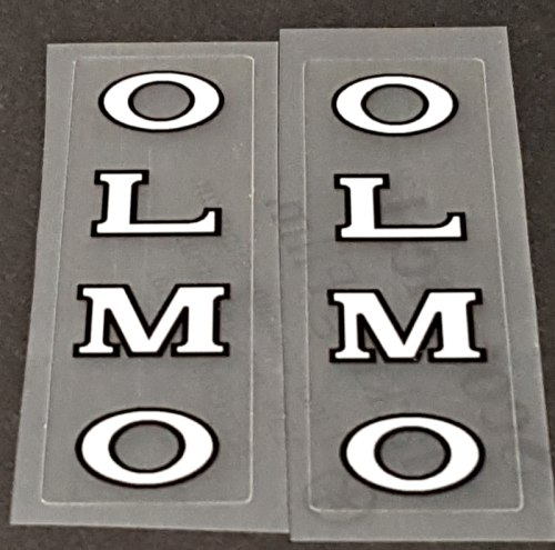 Olmo Bicycle Fork Decals - 1 Pair - Choose Colors