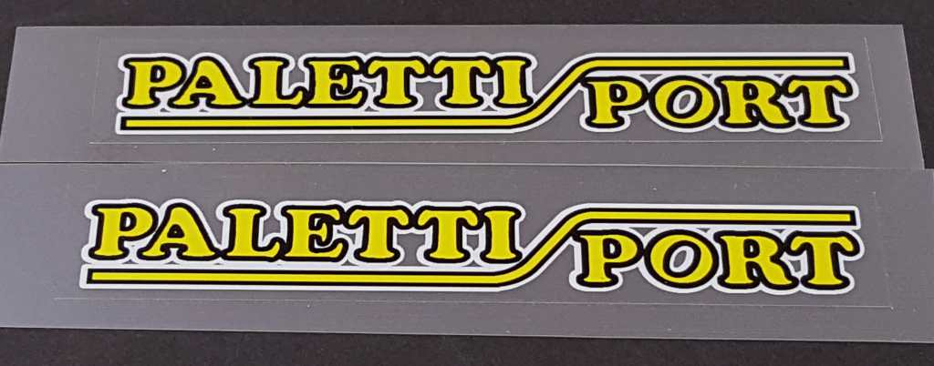 Paletti Sport Stay Decals - 1 Pair