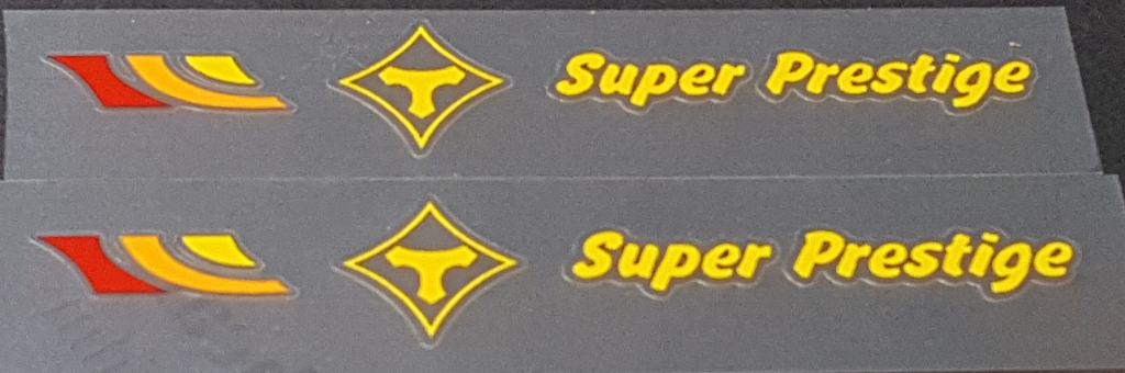 Tommasini Bicycle Top Tube Decals - 1 Pair - Choose Color