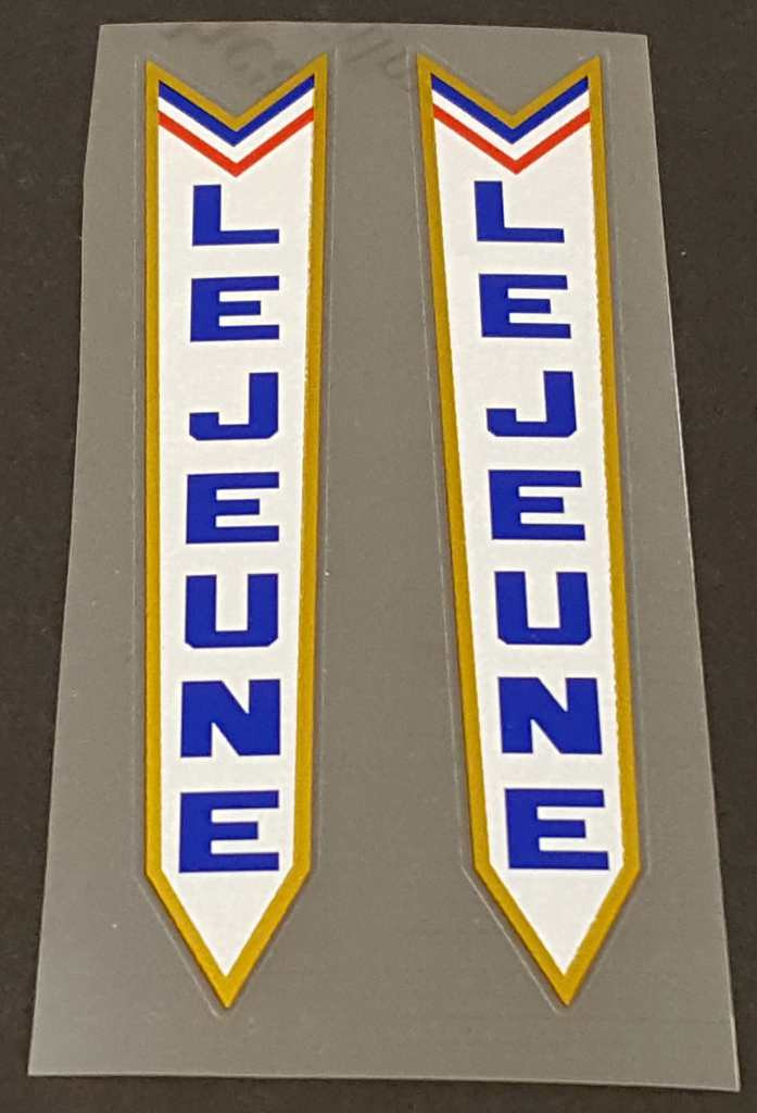 Lejeune Fork Decals - 1 Pair