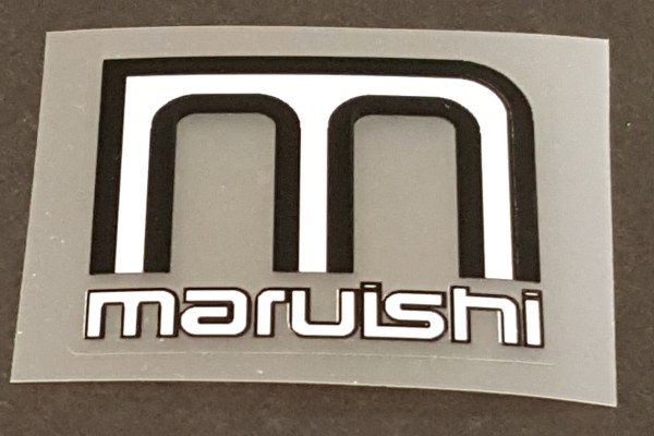 Maruishi Head Badge Decal - Choose Colors