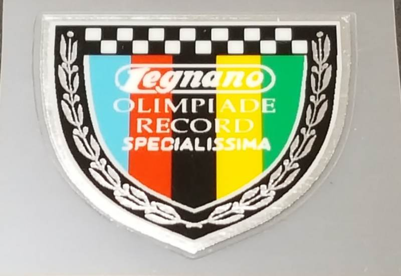 Legnano Specialissima Chrome Seat Tube Badge