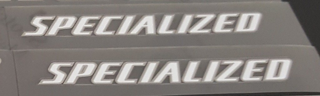 Specialized Stay Decals - 1 Pair Cut Vinyl - Choose Color