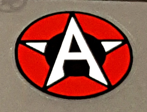 Airborne Bicycle  Head Badge Decal