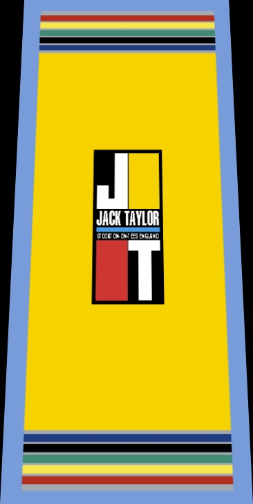 Jack Taylor Bicycle Seat Tube Wrap Decal - Choose Color