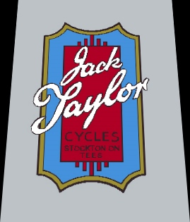 Jack Taylor Bicycle Classic Head Badge Decal