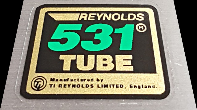 Reynolds Small 531 Tube Decal