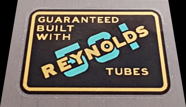 Reynolds 531 Tube Decal