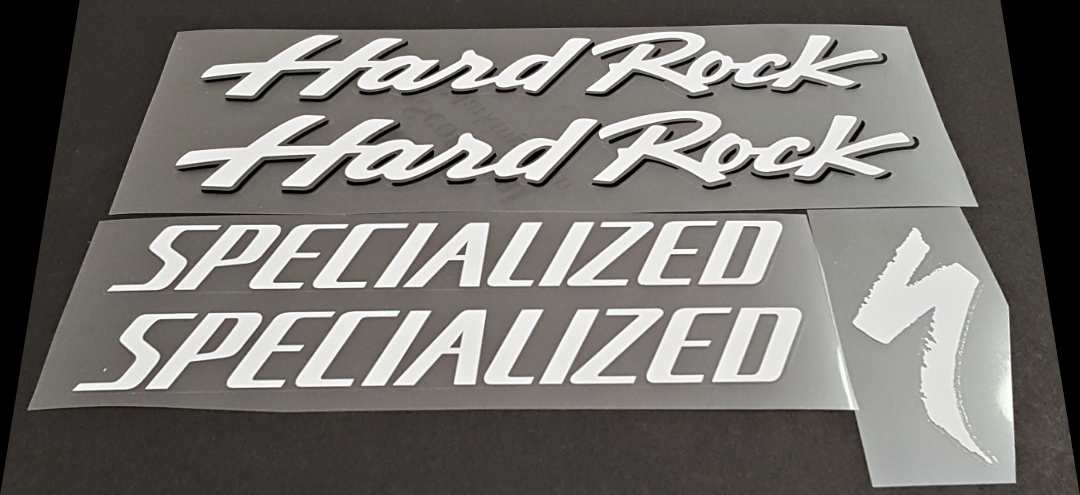 Specialized Hard Rock Decal Set - White
