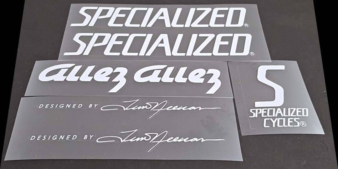 Specialized Allez Bicycle Decal Set