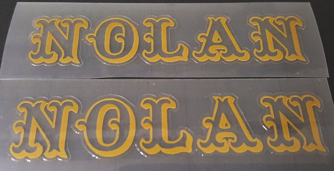 Nolan Bicycle Decals