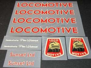 Locomotive Decal Set (sku 995)