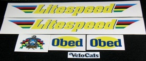 Litespeed Obed Decal Set