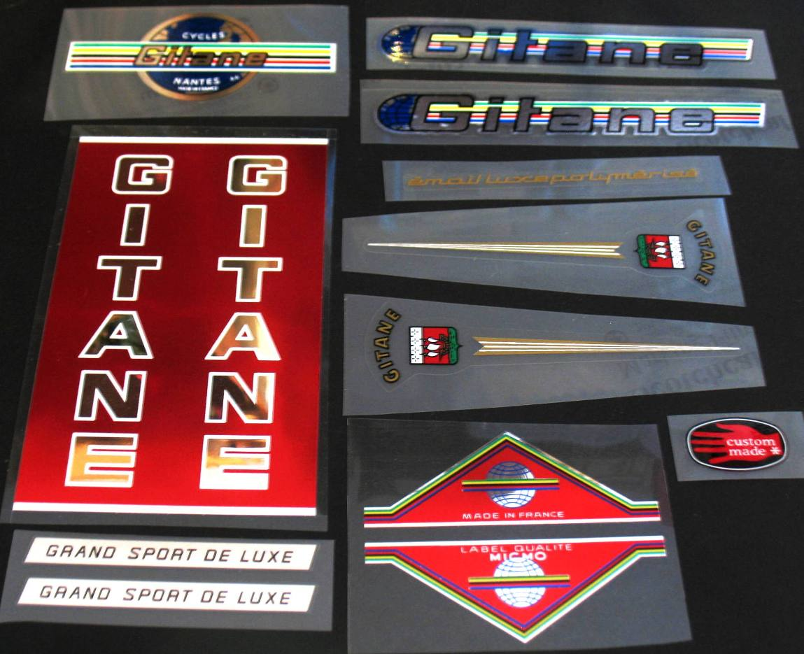 Gitane Grand Sport Bicycle Decal Set