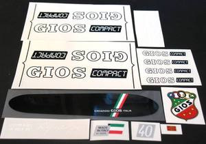Gios Compact Bicycle Decal Set