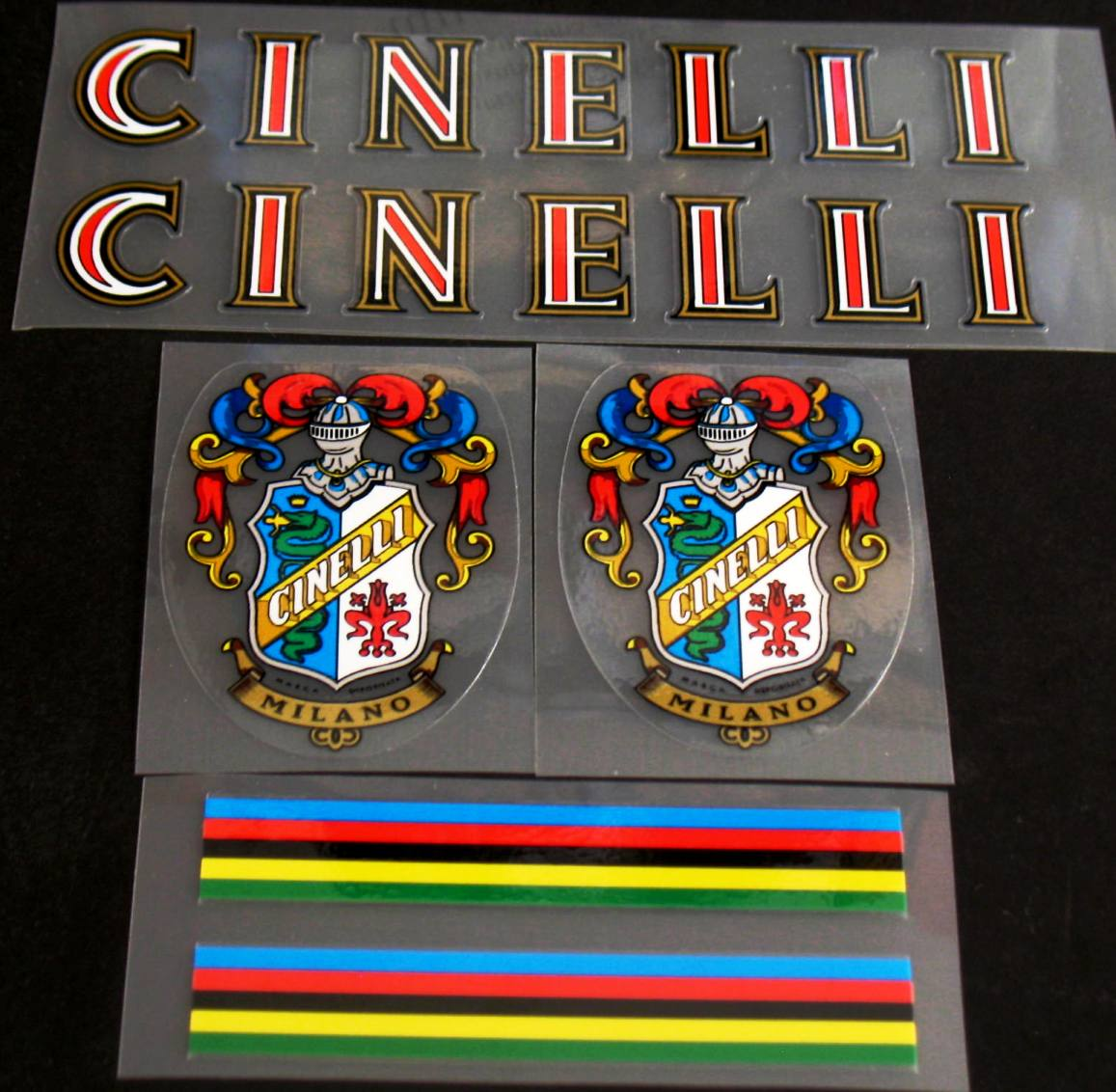 Cinelli Bicycle Decal Set