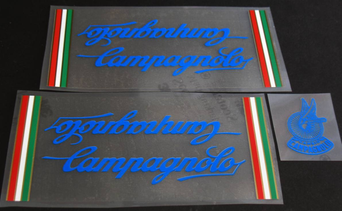 Campagnolo Bicycle Decal Set