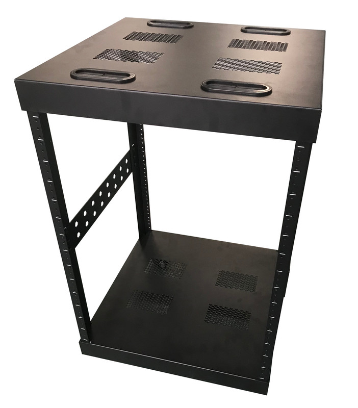 Techmount 14RU Rack with Casters