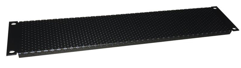 Techmount 2RU Blanking Panel (Perforated)