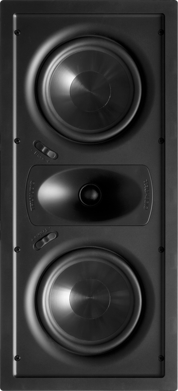 "TruAudio Ghost HT Dual 6"" In-Wall Speaker"