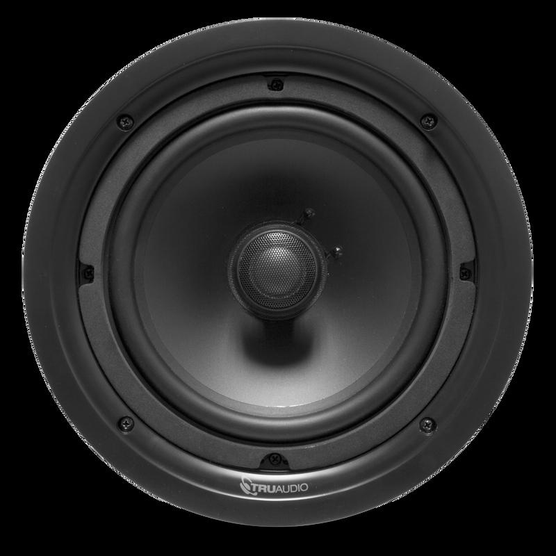 """TruAudio Phanton Series - 2-way In-Ceiling 8"""" Speaker"""