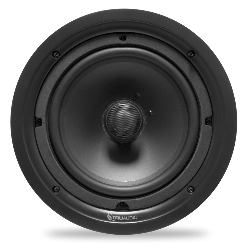 "TruAudio Phanton Series - 2-way In-Ceiling 8"" Speaker"