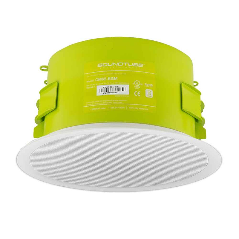 """Phase Tech - 6.5""""Coaxial In-Celling Speaker - White (100v)"""