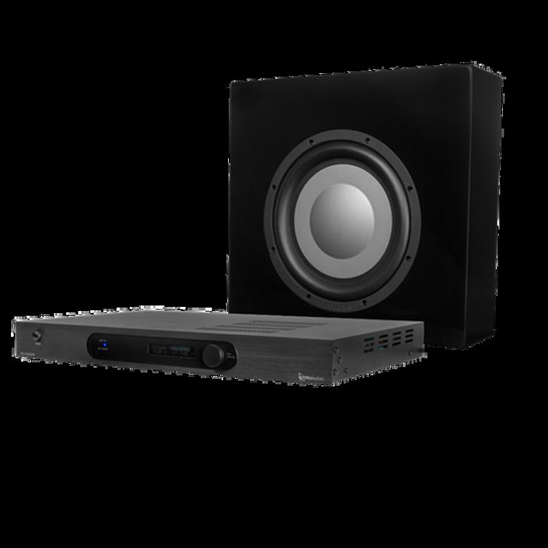 TruAudio Trident Sub System with TRU-S500DSP - Black