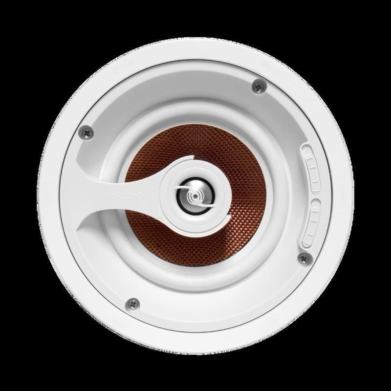 """TruAudio Ghost Series 6.5"""" Carbon Fiber In-Ceiling Speaker"""