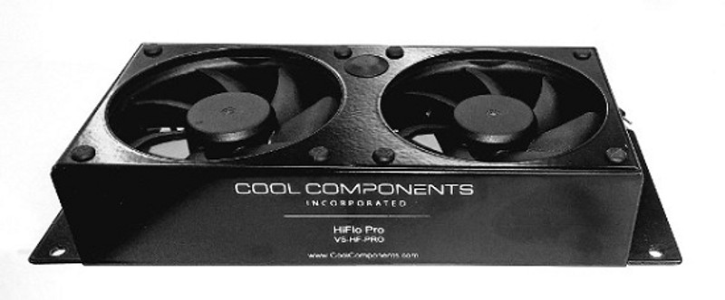 HiFlo Pro Dual Fan - Unit only, requires power supply