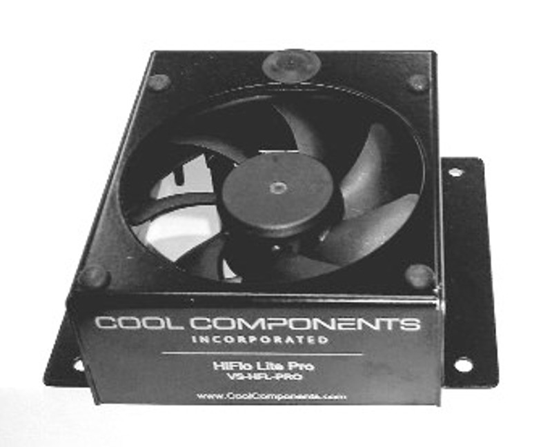 Hiflo Lite Single Fan - Unit only, requires power supply