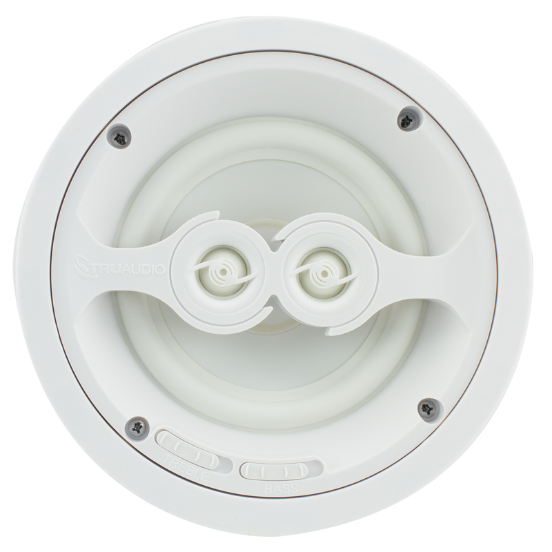 "TruAudio Ghost Series 6.5"" In-Ceiling Stereo Speaker"