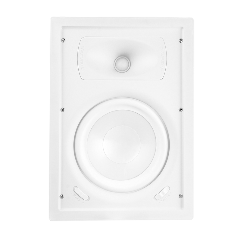 "TruAudio Ghost Series 6.5"" In-Wall 2 Way Speaker"