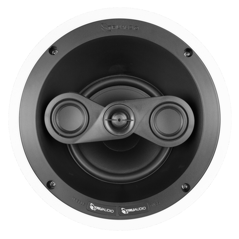"TruAudio In-Ceiling 6.5"" LCR Home Theatre Speaker"