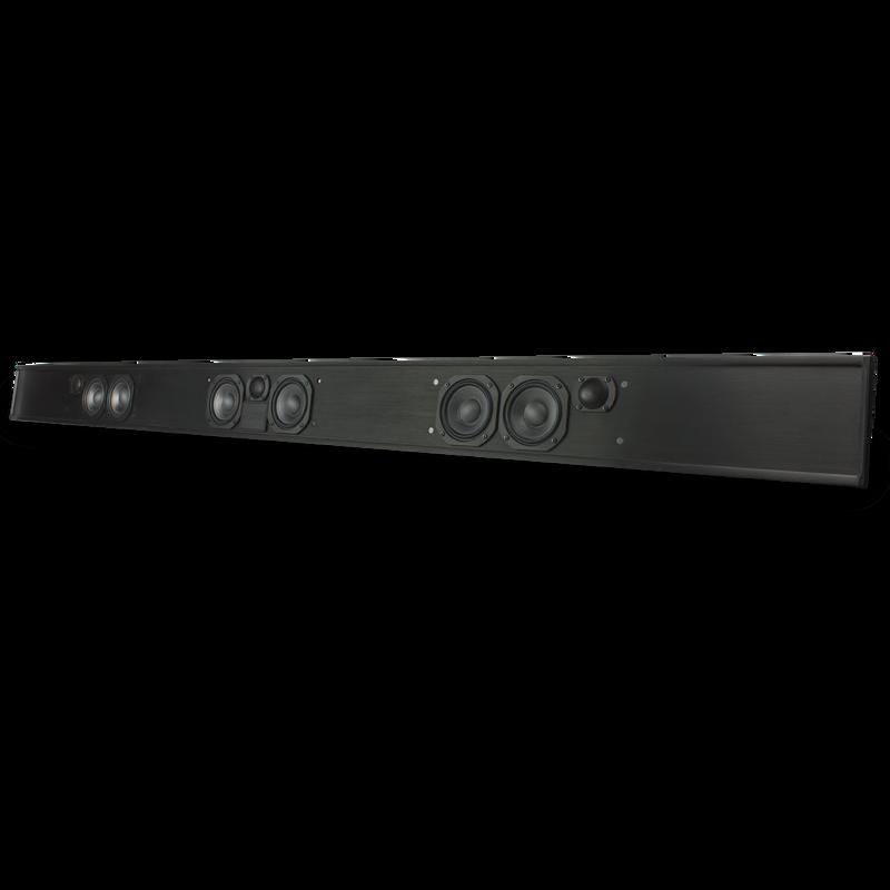 "TruAudio Custom LCR Soundbar with Poly Woofers - fits 65""-90"" TV"