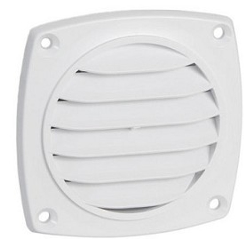 "Cool Components 3"" Round Surface Mount Grill"