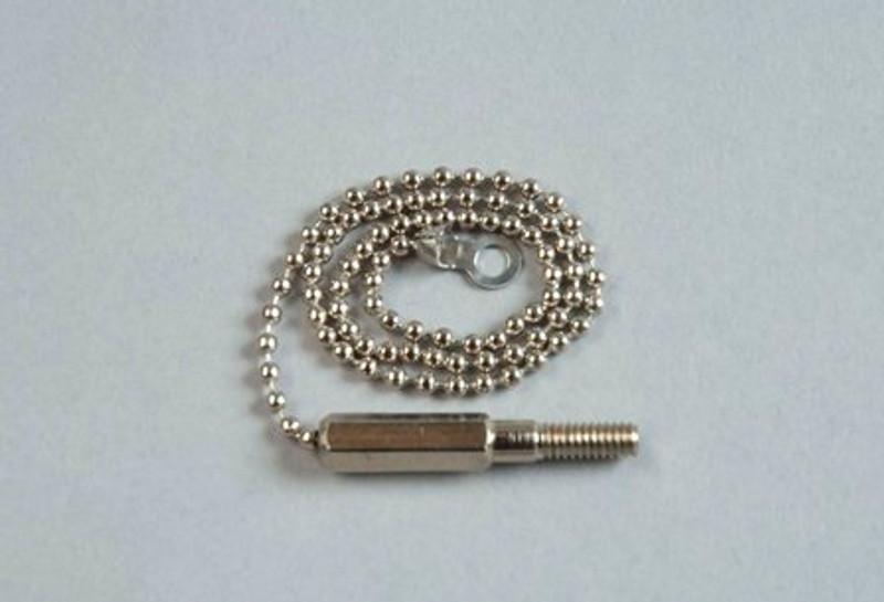 LSDi Creep-zit male threaded ball chain tip (3 pack)
