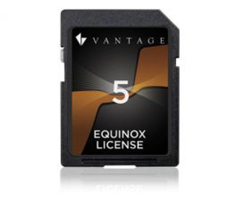 Vantage Equinox App License 5pack