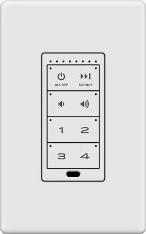 Autonomic In-wall Keypad
