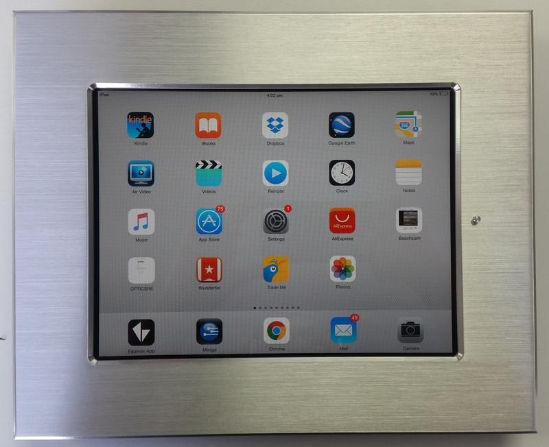 "iDocx iPad 9.7"" in Wall Mount Brushed Aluminium was $935.08 now..."