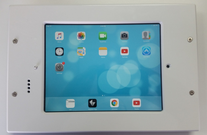 "iDocx iPad 7.9"" Mini Tamper Resistant Inwall Mount - White was $935.08 now..."