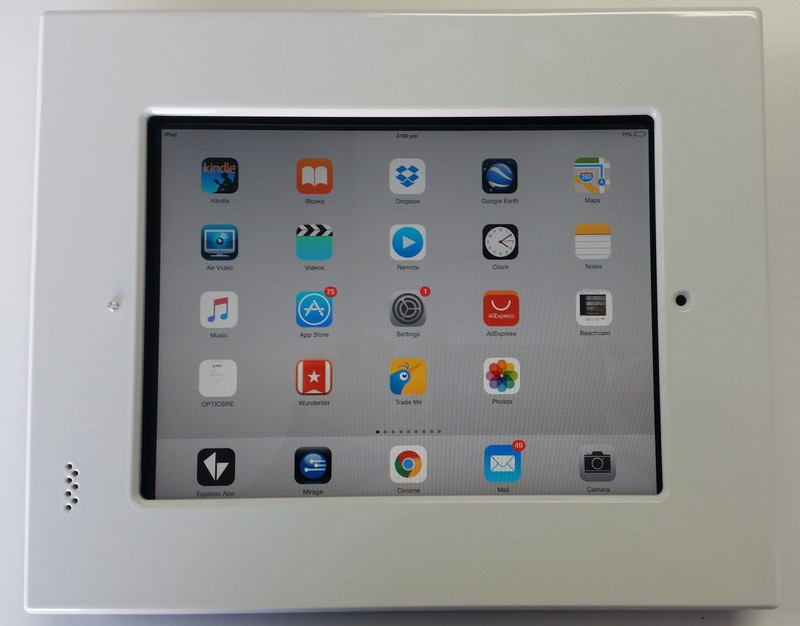 """iDocx iPad 9.7"""" Inwall Mount - White was $935.08 now..."""