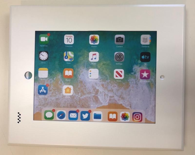 "iDocx iPad 9.7"" - Matt White, Steele Bezel was $648.12 now..."