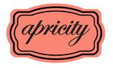 APRICITY | alquimie